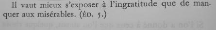La Bruyère, les caractères