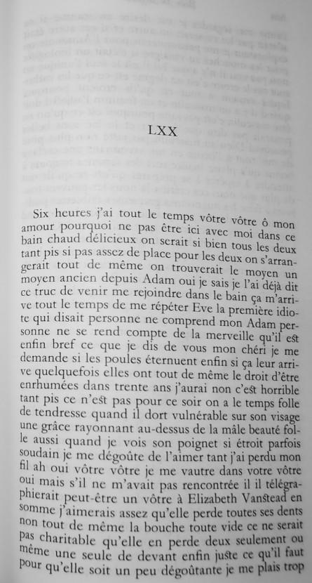 ariane,belle du seigneur