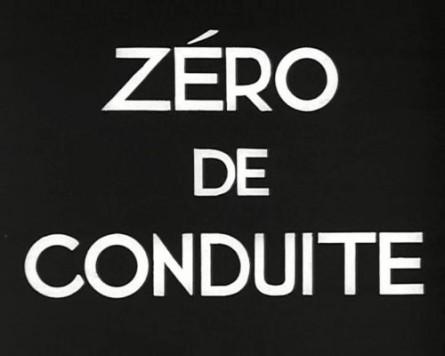 zéro de conduite